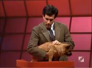Peter Holding Dog