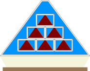 Pyramid front game board blue by mrentertainment-d66x2i4
