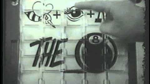 Concentration home game II Vintage Commercial 1964
