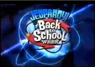 Jeopardy! Season 20 Back to School Week