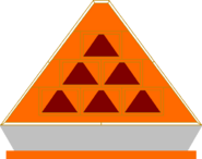 Pyramid front game board orange by mrentertainment-d66us67