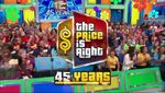 The Price is Right 45 Years