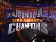 Jeopardy! 1998 Tournament of Champions title card