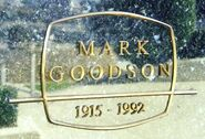 Mark Goodson Grave Closeup
