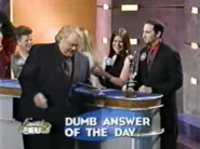 Dumb Answer of the Day Louie the Award & the contestant
