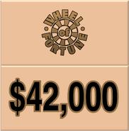 WOF $42,000