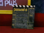 Password Plus Production Slate 1982