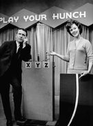 Merv Griffin Liz Gardner Play your Hunch 1960