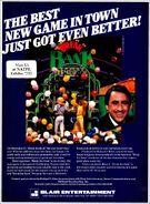 Break the Bank '85 Farago ad