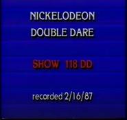 -118DD (February 16, 1987)