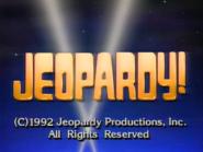 Jeopardy! 1992-1993 season copyright card-3