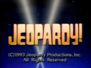 Jeopardy! 1992-1993 season copyright card-6