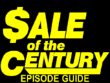 Sale of the Century/Episode Guide