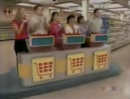 Supermarket Sweep Contestants Arena Panel Shot