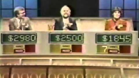 Press Your Luck (6 8 84) Ed vs. MICHAEL LARSON vs