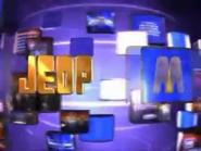 Jeopardy! 1999-2000 season title card screenshot 23