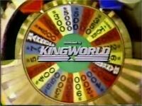 WOF King World logo - 1985
