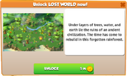Lost World (Unlock Information)