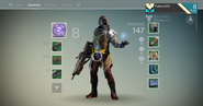 Character Inventory Screen-Destiny