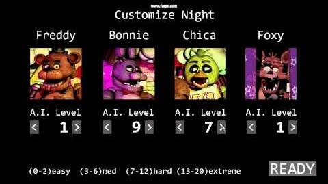 Easter Egg in New Version 1987 Five Nights at Freddy's