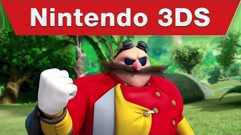 Nintendo 3DS - Sonic Boom Fire & Ice Announcement