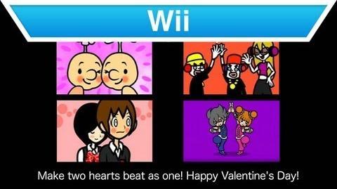 Wii - Rhythm Heaven Fever Valentine's Day Trailer