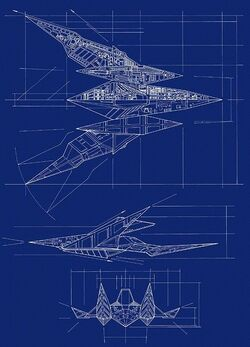 Arwing blueprint.jpg