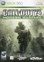 Call of Duty 4: Modern Warfare box art