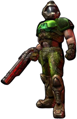 The anonymous space marine from DOOM.png