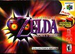 The Legend of Zelda: Majora's Mask box art