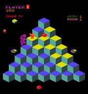 Qbert(arcade) playing field.png