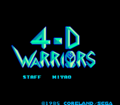 4-D Warriors Title.png