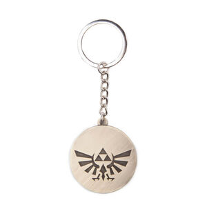The Legend Of Zelda (Hyrule Crest Coin) - Metal Keychain.jpg