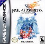 Final Fantasy Tactics Advance box art