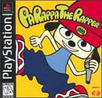 PaRappa the Rapper box art