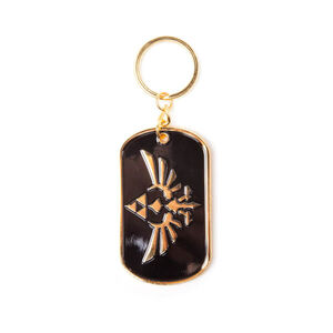 The Legend Of Zelda (Hylian Crest) - Metal Keychain.jpg