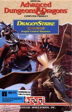 DragonStrike computer game cover art.jpg