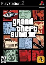 Grand Theft Auto III box art