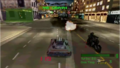 Twisted metal gameplay-warehouse district warfare.png