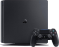 Hardware-PlayStation-4-Slim-with-Controller-and-Vertical-Stand.png