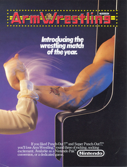 Nintendo armwrestling arcadeflyer.png