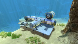 A simple underwater base