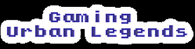 Gaming Urban Legends Wiki