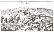 Weißenstein Merian 1643