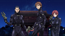 Gantz anime Kato, Kurono, and Kishimoto.jpg