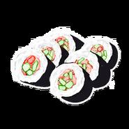 Sushi Small Skeleton