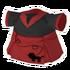 Poodle Red Dress