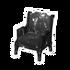 Black Galaxy Chair