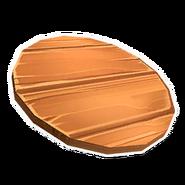 Wooden Barrel Lid