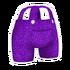 Purple Overalls